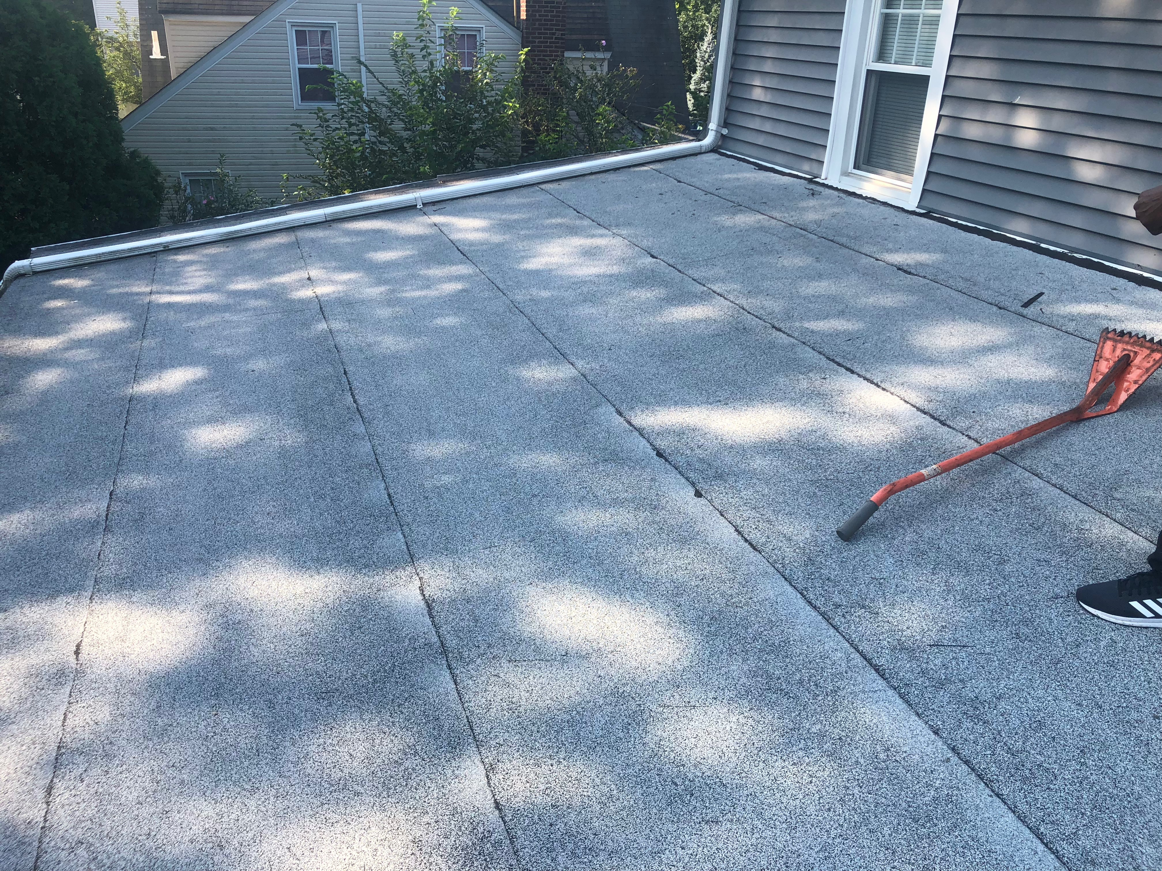 Day Street In Bloomfield New Jersey Replace Of Flat Roof